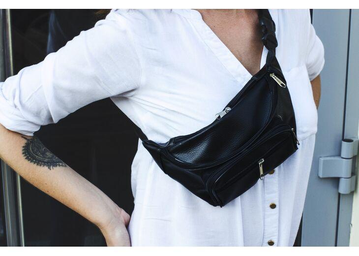 Как носить женские поясные сумки в 2021