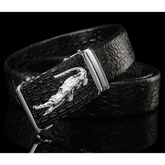 Мужские ремни и пояса - Мужской ремень DESTINY, черный П0875