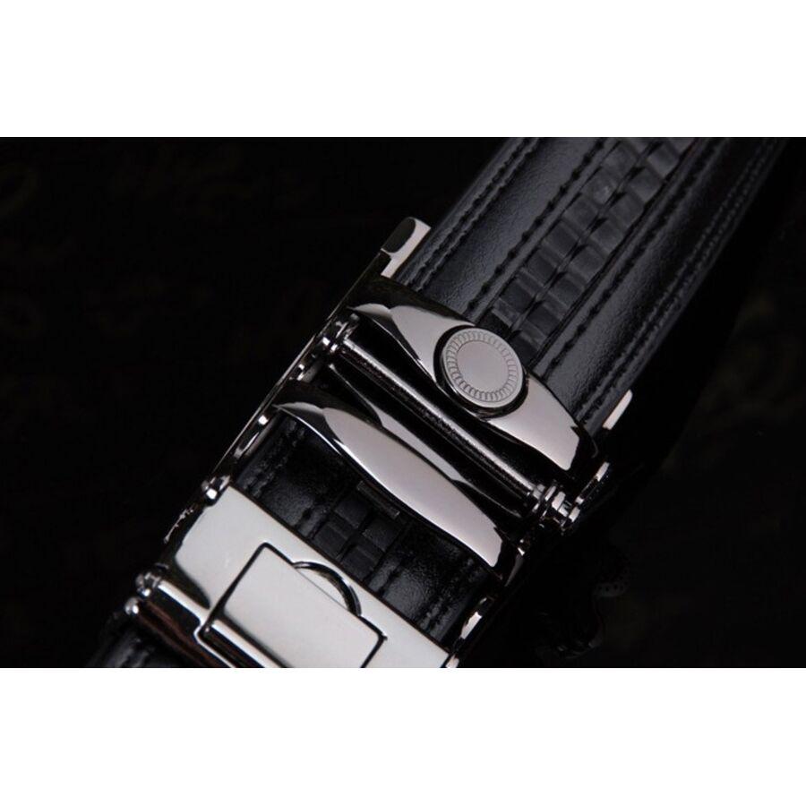 Мужские ремни и пояса - Мужской ремень DWTS, черный П0878