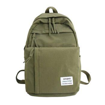 Женский рюкзак DCIMOR, зеленый 0886