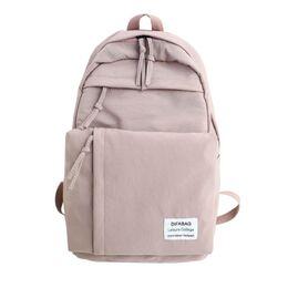 Женский рюкзак DCIMOR, розовый 0887