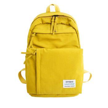 Женский рюкзак DCIMOR, желтый 0888