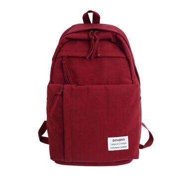 Женский рюкзак DCIMOR, красный П0889