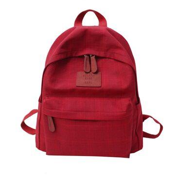 Женский рюкзак DCIMOR, красный П0890