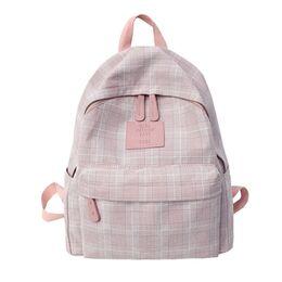 Женский рюкзак DCIMOR, розовый 0892