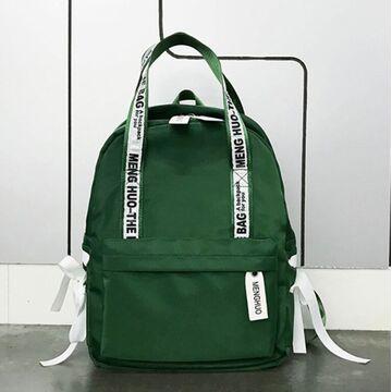 Женский рюкзак SOULSPRING, зеленый П0910