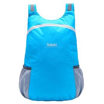 Складной рюкзак TUBAN, голубой 0921