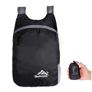 Складной рюкзак, черный П0923