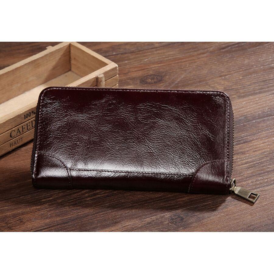 Мужские кошельки - Мужской кошелек Baellerry, коричневый 0937