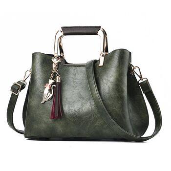 Женская сумка ACELURE, зеленая 0944
