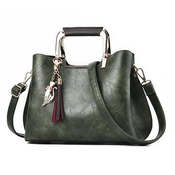 Женская сумка ACELURE, зеленая П0944