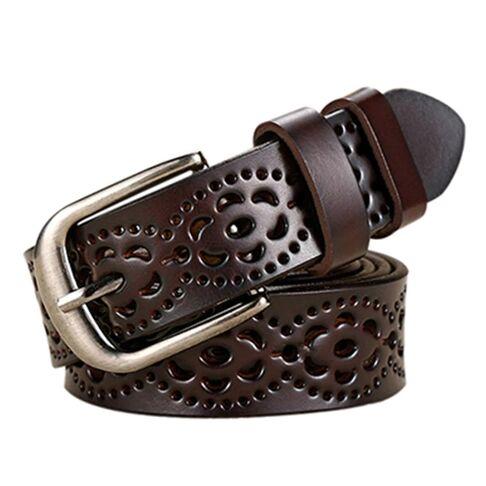 Женские ремни и пояса - Женский ремень Liva, коричневый 0946