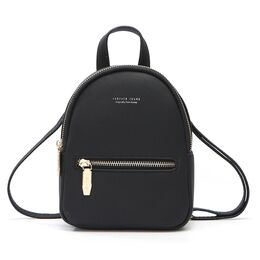 Женский рюкзак WEICHEN, черный 0949