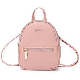 Женский рюкзак WEICHEN, розовый 0950