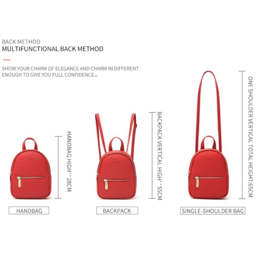 Женские рюкзаки - Женский рюкзак WEICHEN, розовый 0950