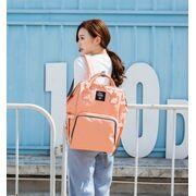 Женские рюкзаки - Рюкзак сумка для ухода за ребенком, LEQUEEN розовый П0970
