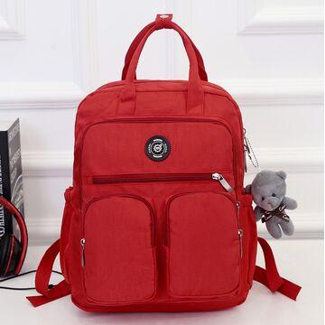 Женский рюкзак, красный П0980