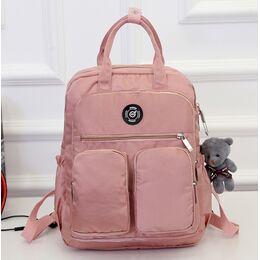 Женский рюкзак, розовый 0981