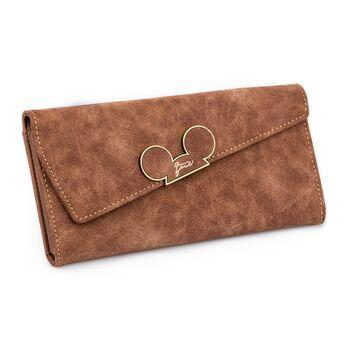 Женский кошелек, коричневый 0001