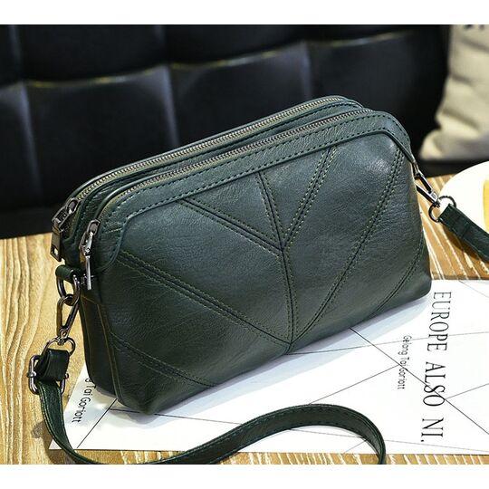Женские сумки - Женская сумка SMOOZA, зеленая П0999