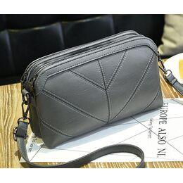 Женская сумка SMOOZA, серая 1000