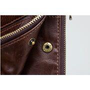 Мужской кошелек KAVIS, коричневый П1010