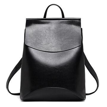 Женский рюкзак, черный П0005