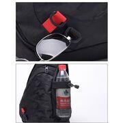 Мужские сумки - Мужская сумка слинг DINGXINYIZU черная П1044
