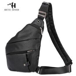 Мужская сумка слинг ARCTIC HUNTER, черная 1054
