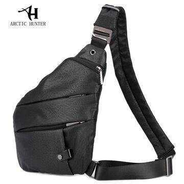 Мужская сумка слинг ARCTIC HUNTER, черная П1054