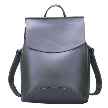 Женский рюкзак, зеленый 0007