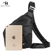 Мужская сумка слинг ARCTIC HUNTER, черная П1055
