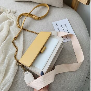 Женская сумка, желтая 1061