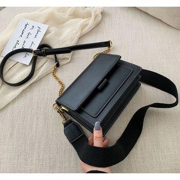 Женская сумка, черная 1062