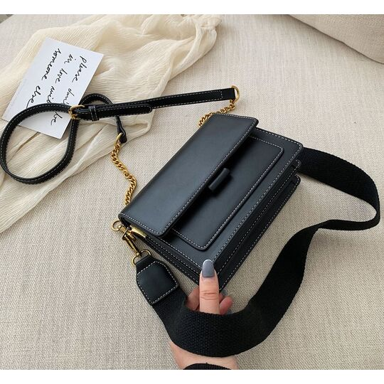 Женские сумки - Женская сумка, черная П1062