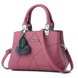 Женская сумка, розовая 1063