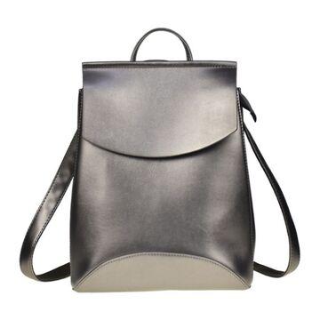 Женский рюкзак, серый П0008