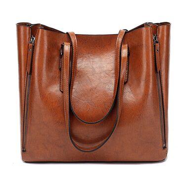 Женская сумка ACELURE, коричневая П1065