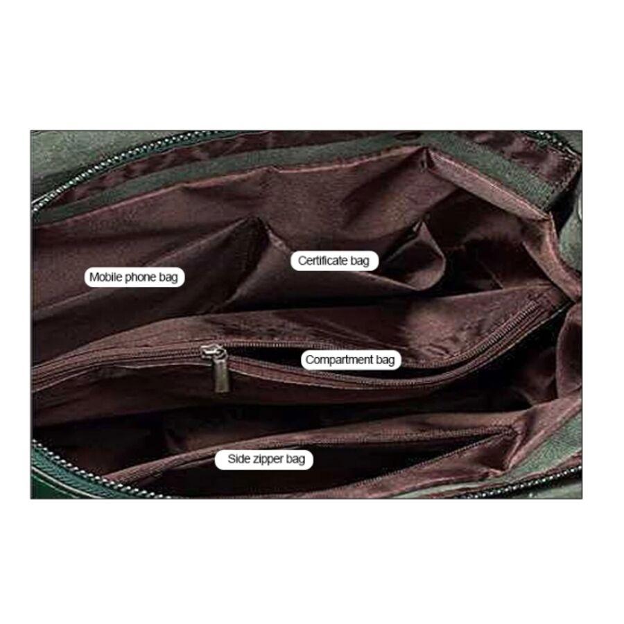 Женские сумки - Женская сумка ACELURE, коричневая П1065