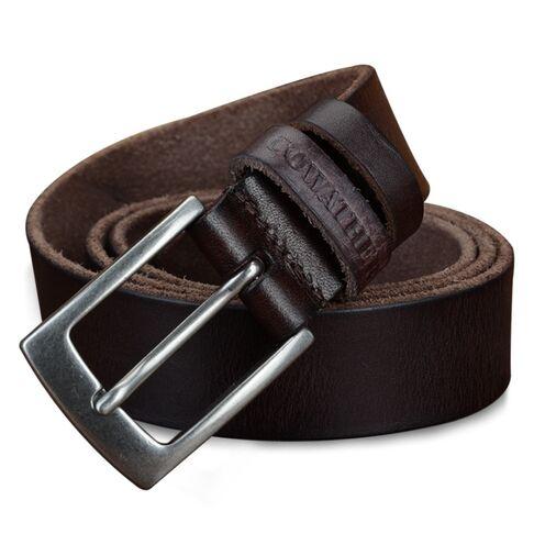 Мужские ремни и пояса - Мужской ремень COWATHER, коричневый 1070