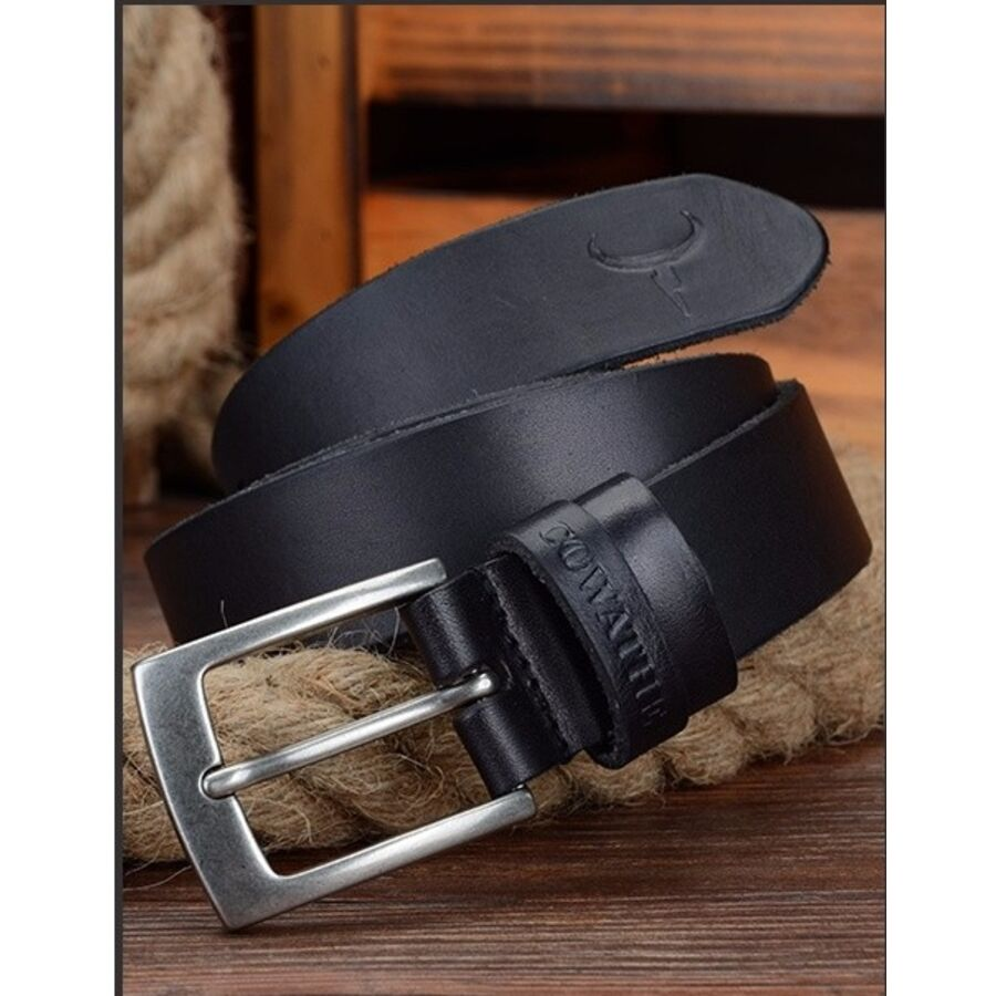 Мужские ремни и пояса - Мужской ремень COWATHER, черный 1071