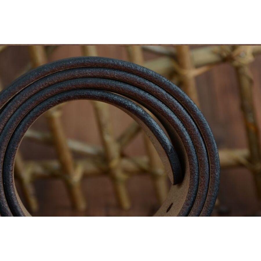 Мужские ремни и пояса - Мужской ремень COWATHER, коричневый 1072