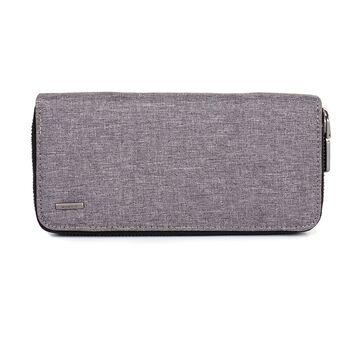 Мужской кошелек Baellerry, серый П1078