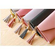 Женские кошельки - Женский кошелек, коричневый П1080