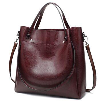 Женская сумка ACELURE, коричневая П1081