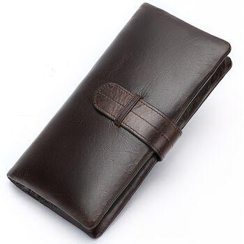 Мужской кошелек WESTAL, коричневый 1082