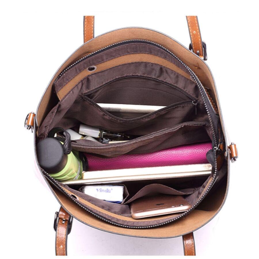 Женские сумки - Женская сумка ACELURE, коричневая П1090