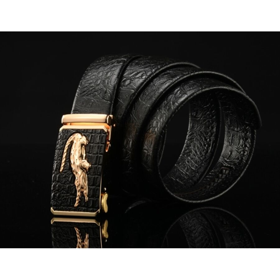 Мужские ремни и пояса - Мужской ремень DESTINY, коричневый П1093