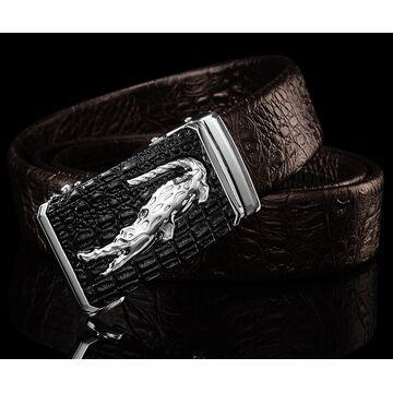 Мужские ремни и пояса - Мужской ремень DESTINY, коричневый П1094