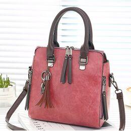Женская сумка, розовая 1096